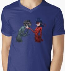 My Lady Men's V-Neck T-Shirt
