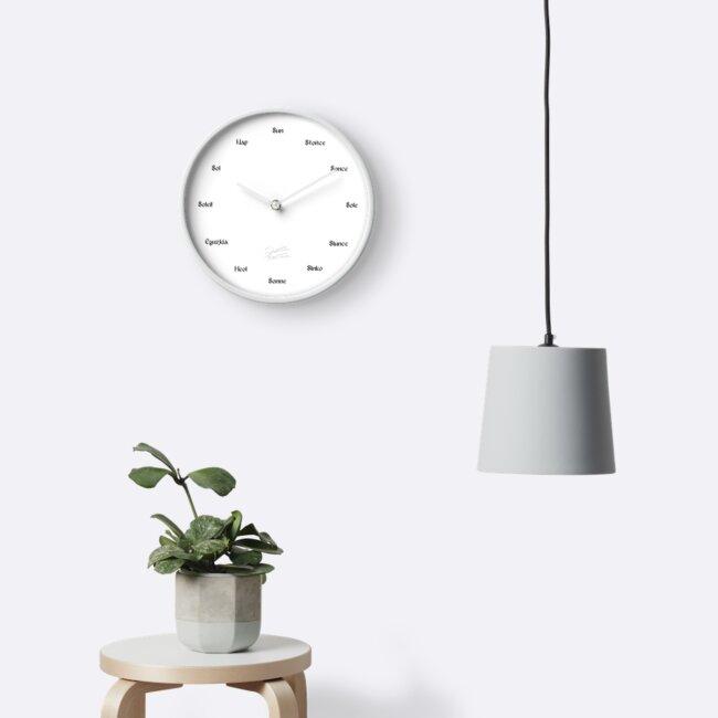Sundial Clock (Multilingual) by HoremWeb