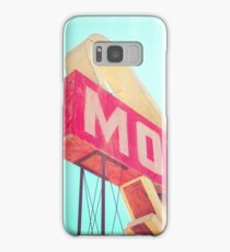 Vintage Americana Motel Sign Samsung Galaxy Case/Skin