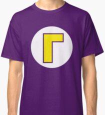 Waluigi Emblem Classic T-Shirt
