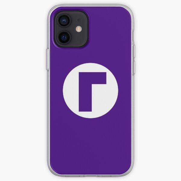 Waluigi Emblem (hollow) iPhone Soft Case