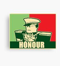 """Mex """"Honour"""" slogan Canvas Print"""