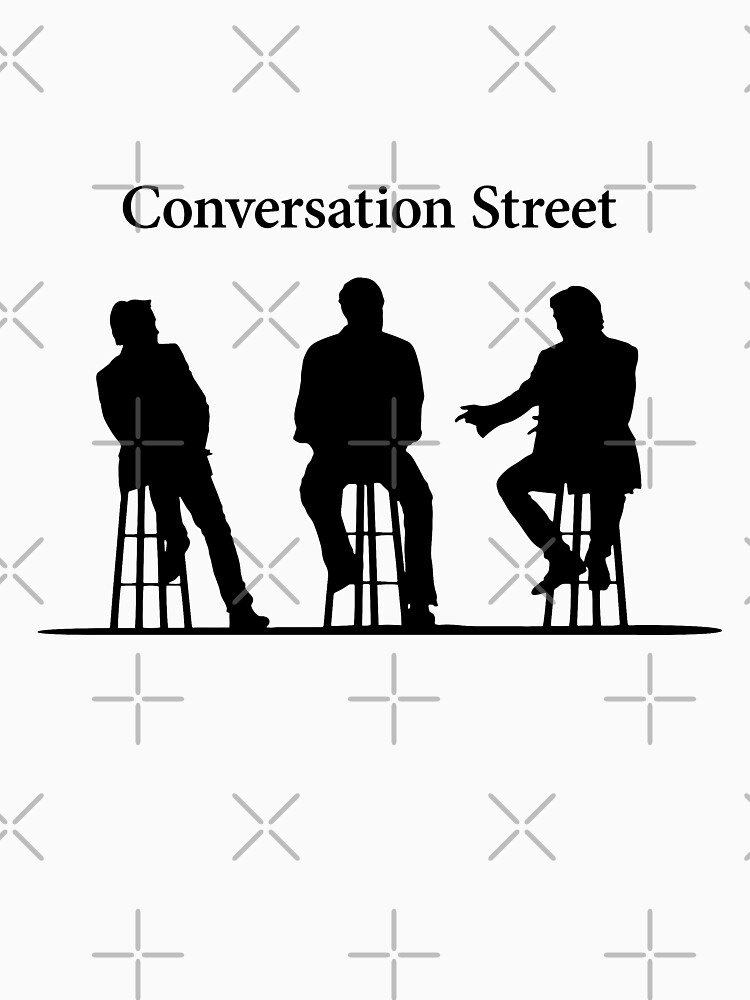 Conversation Street - The Grand Tour | Unisex T-Shirt