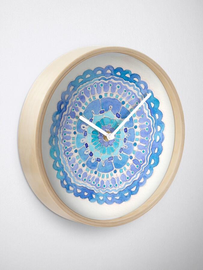 Alternate view of Blue Clock