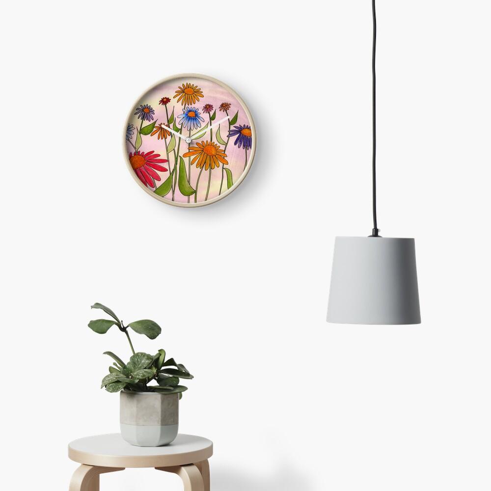 Daisy Bouquet Clock