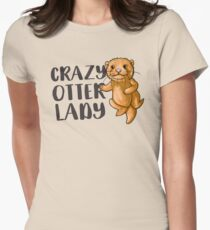Crazy otter lady (super cute) T-Shirt
