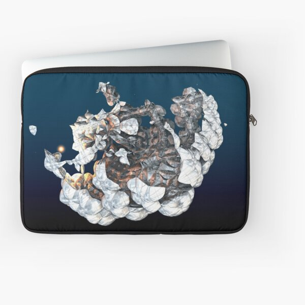Shimmy Shoom Chrome Fractal Laptop Sleeve
