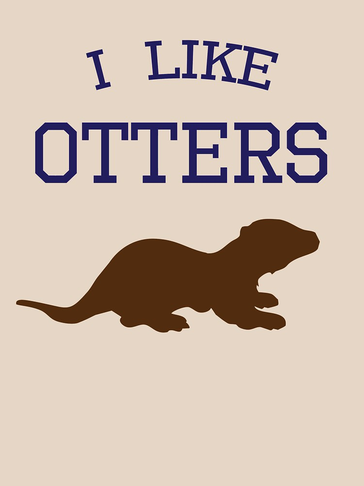 I Like Otters | Women's T-Shirt