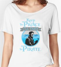Captain Hook. OUAT. Keep The Prince, I'll Take The Pirate. Women's Relaxed Fit T-Shirt