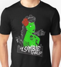 Zombie Rockabilly Pinup T-Shirt