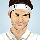 Roger Federer, the tennis superstar by mikath