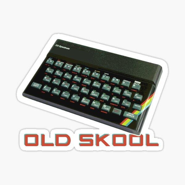 Spectrum Old Skool Sticker