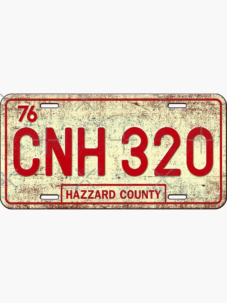 Dukes of Hazzard - General Lee License Plate by DuckSkinAngel