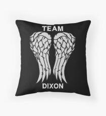 Team Dixon Throw Pillow