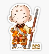 RPG Rules. Monk Sticker