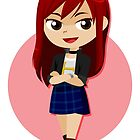 Chibi FT: Erza by artsy-alice