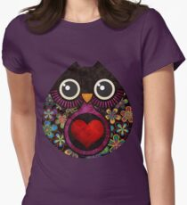 Owl's Hatch Women's Fitted T-Shirt