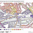 Multiple Deprivation West Hampstead ward, Camden by ianturton