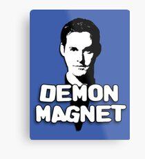 XANDER HARRIS: Demon Magnet Metal Print