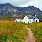 Highland Cottage, Glencoe,Scotland by Jim Wilson
