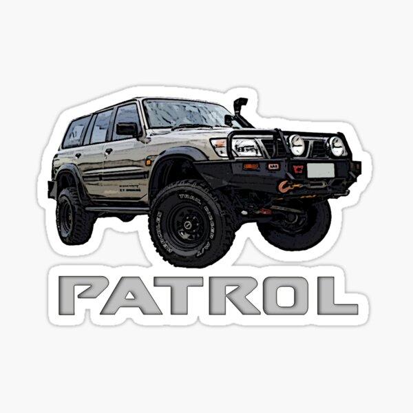 Nissan Patrol GU Pegatina