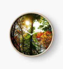 Fall landscape Clock