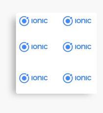 Ionic Canvas Print