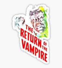 return of the vampire Sticker