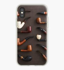 Collection of pipes iPhone Case