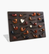 Collection of pipes Laptop Skin