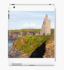 castle beach and cliffs in Ballybunion  iPad Case/Skin