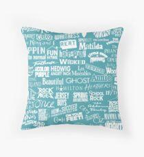 broadway baby Throw Pillow