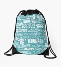 broadway baby Drawstring Bag
