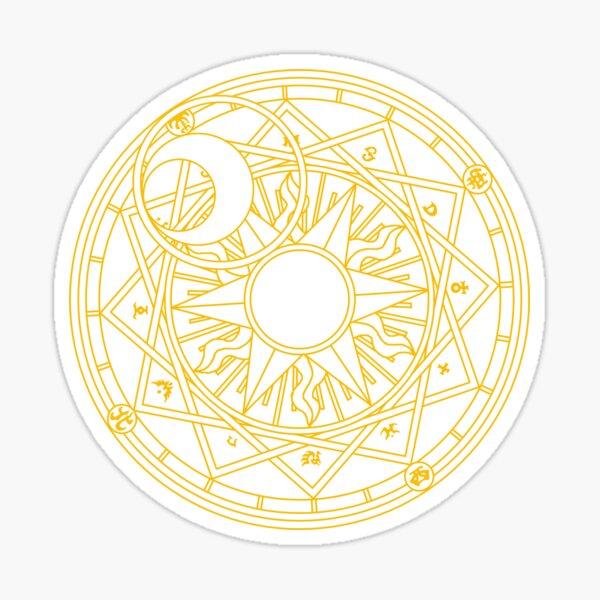 Clow Circle Sticker