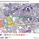 Multiple Deprivation Whitechapel ward, City of London by ianturton
