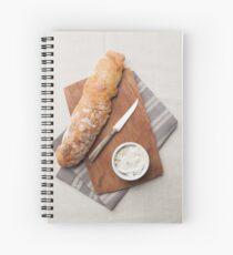 Baguette bread Spiral Notebook