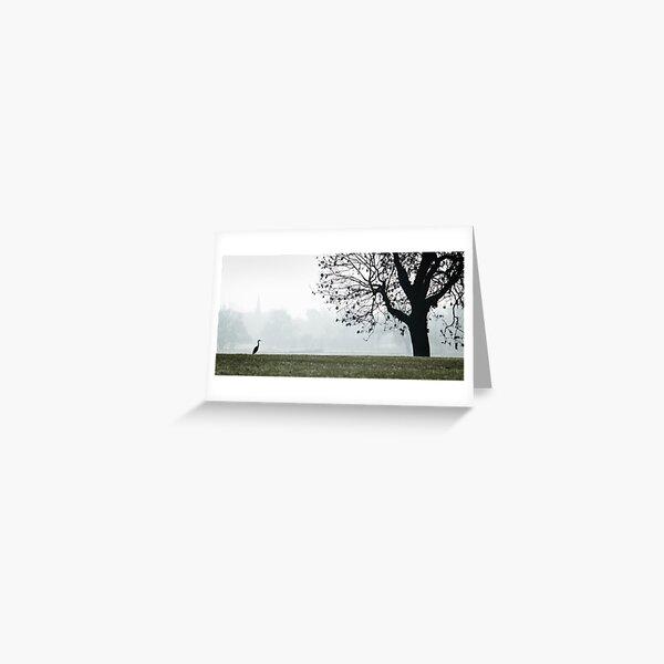Heron on Westbridge Park Greeting Card