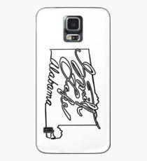 Funda/vinilo para Samsung Galaxy Smith State Alabama State Outline