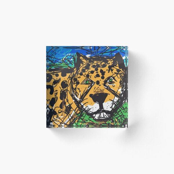 Jaguar Acrylic Block
