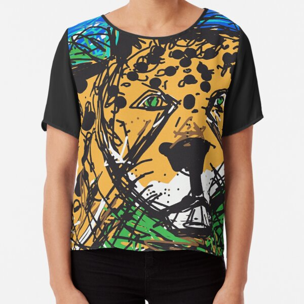 Jaguar Chiffon Top