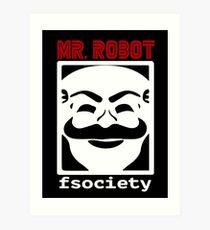 F society Art Print