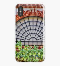 Covered by a grate iPhone Case