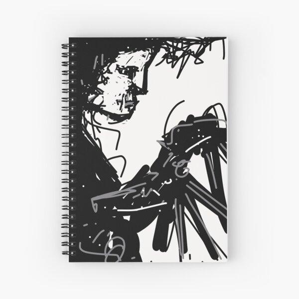 Edward Scissorhands Spiral Notebook