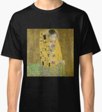 Gustav Klimt The Kiss Classic T-Shirt