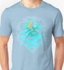 Screwed | Funny Shark and Diver Illustration Unisex T-Shirt