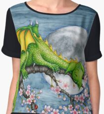 Sleeping Dragon Chiffon Top