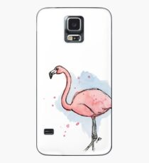 The fabulous world of the flamingo Case/Skin for Samsung Galaxy