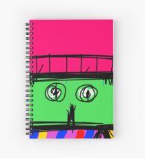 Scarf Spiral Notebook