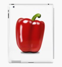 Eat food fruit pepper pimiento vegetables iPad Case/Skin