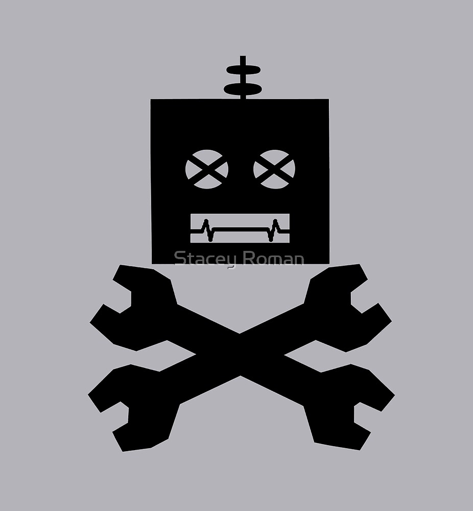 Robot-Pirates!  by Stacey Roman